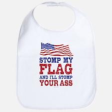Stomp My Flag Bib