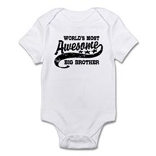 World's Most Awesome Big Brother Infant Bodysuit