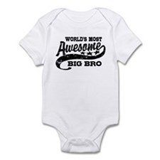 World's Most Awesome Big Bro Infant Bodysuit