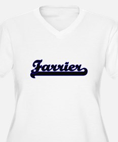 Farrier Classic Job Design Plus Size T-Shirt