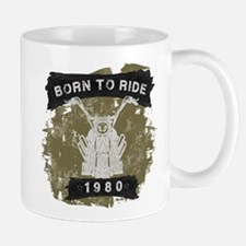 Birthday 1980 Born To Ride Mug