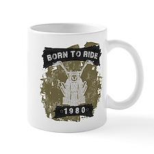 Birthday 1980 Born To Ride Mug