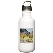 wild hare in Clear Cre Water Bottle