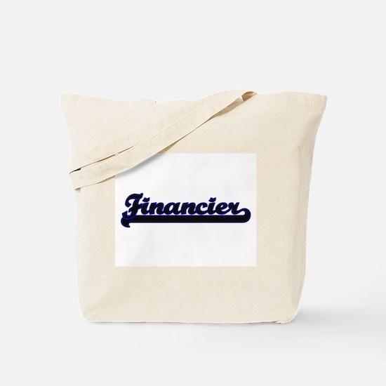 Financier Classic Job Design Tote Bag