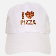I LOVE PIZZA Baseball Baseball Cap