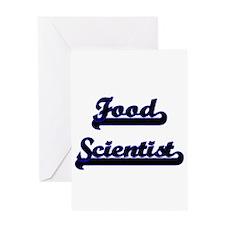 Food Scientist Classic Job Design Greeting Cards