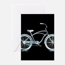 Iceberg Bike Greeting Cards