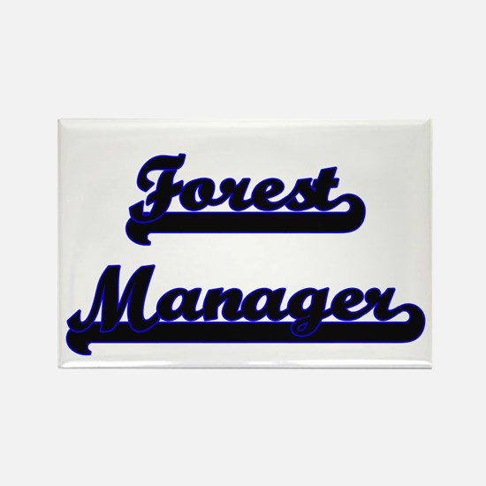 Forest Manager Classic Job Design Magnets