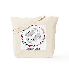 Cute Walleye and girls Tote Bag