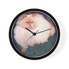 Himalayan Cat 2 Wall Clock