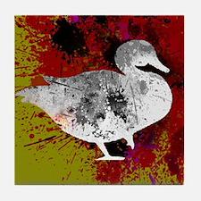 Splash Duck Tile Coaster