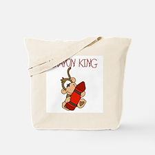Crayon King Tote Bag
