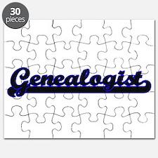 Genealogist Classic Job Design Puzzle