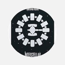 Minimalist Interstellar Art Button