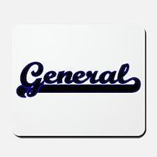 General Classic Job Design Mousepad