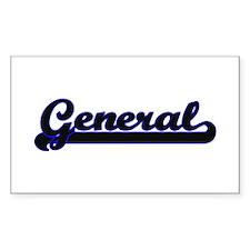 General Classic Job Design Decal