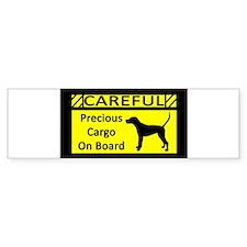 Cute Treeing walker coonhound Bumper Sticker