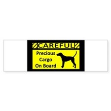 Cute Dog walker Bumper Sticker