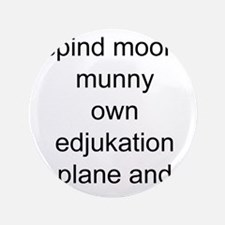 funny education Button