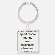 funny education Keychains