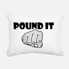 Pound It Rectangular Canvas Pillow