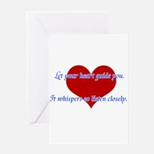Heart Guide you Greeting Cards