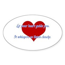 Heart Guide you Decal