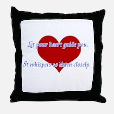 Heart Guide you Throw Pillow