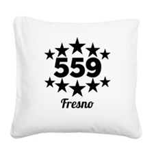 559 Fresno Square Canvas Pillow