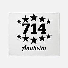 714 Anaheim Throw Blanket