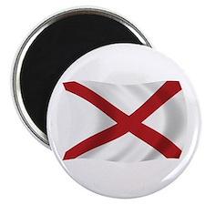 """Alabama State Flag 2.25"""" Magnet (100 pack)"""