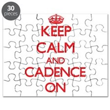 Keep Calm and Cadence ON Puzzle