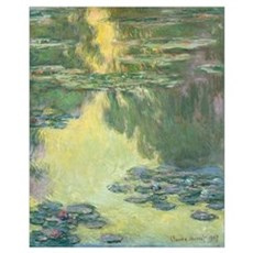 Waterlilies by Claude Monet Framed Print