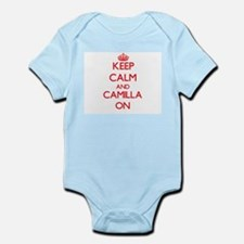 Keep Calm and Camilla ON Body Suit