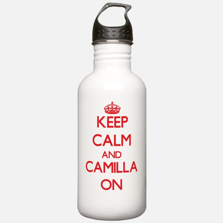 Keep Calm and Camilla Water Bottle