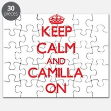 Keep Calm and Camilla ON Puzzle