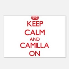 Keep Calm and Camilla ON Postcards (Package of 8)
