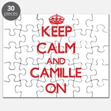 Keep Calm and Camille ON Puzzle
