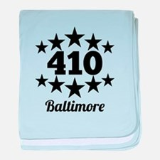 410 Baltimore baby blanket