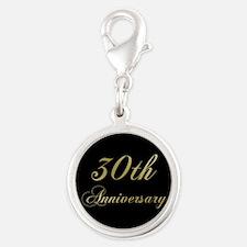 30th Wedding Anniversary Charms