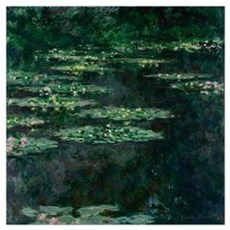 Waterlilies by Claude Monet Poster