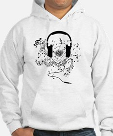 Cool Headphone in Hoodie