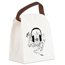 Cute Music notes Canvas Lunch Bag