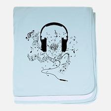 Unique Music baby blanket