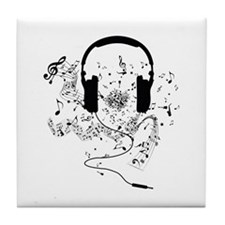Cute Music Tile Coaster