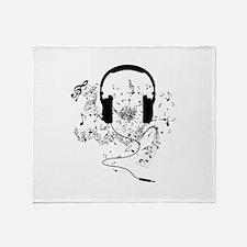 Unique Music Throw Blanket