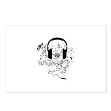 Cute Music Postcards (Package of 8)