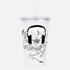 Unique Music notes Acrylic Double-wall Tumbler