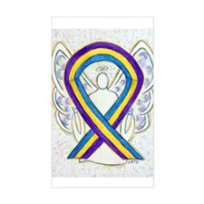 Bladder Cancer Awareness Ribbon Decal