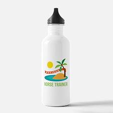 Retired Horse Trainer Water Bottle